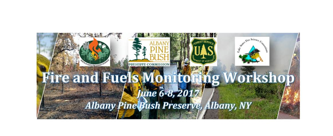 in cooperation with North Atlantic Fire Science Exchange, and held at Albany Pine Bush Preserve, Albany, NY